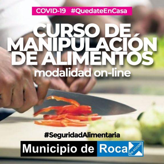 Continúa el curso online de manipulación de alimentos