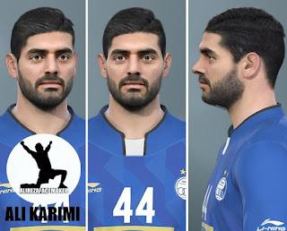 PES 2020 Faces Ali Karimi by AliReza