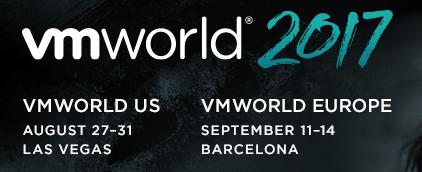 Pre-VMWorld 2017 Barcelona