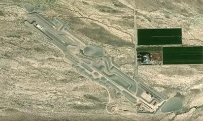Area 51: Alcuni ritengono che il sito sia in effetti un'opera d'arte su larga scala