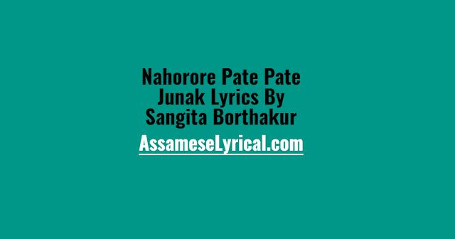 Nahorore Pate Pate Junak Lyrics