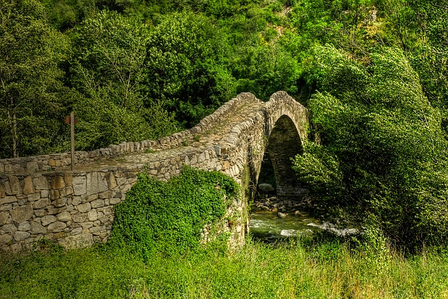 Travel Andorra, Tourism, Tourist attractions in andorra, Best places, Photography,14 amazing tourist destinations, The Bridge of Margineda,