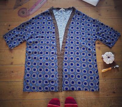 Self drafting a kimono