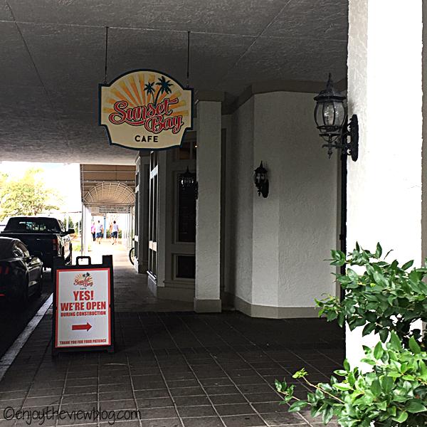 Sunset Bay Cafe entrance