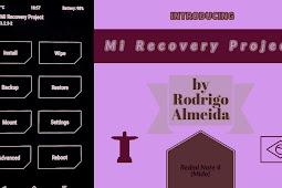Mi Recovery Project for Redmi Note 4 (Mido) by Rodrigo Almeida 🇧🇷 {Video}