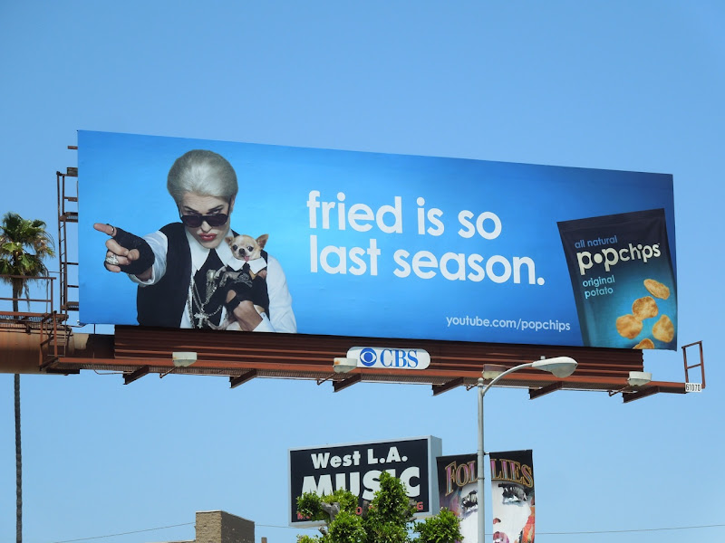 Ashton Kutcher Darl Popchips billboard