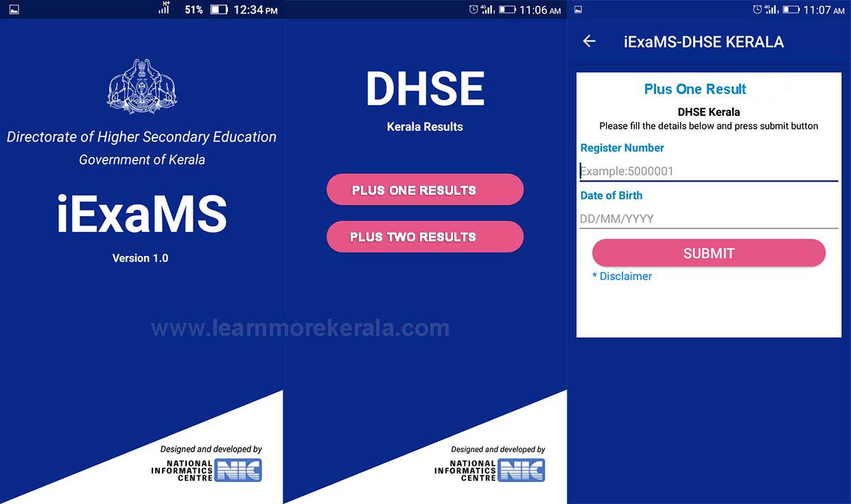 iExaMS mobile App Download
