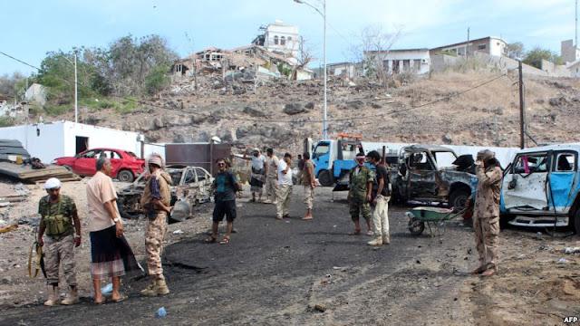 Pangkalan Militer Yaman Diserang Bom Bunuh Diri, 40 Tewas 70 Terluka