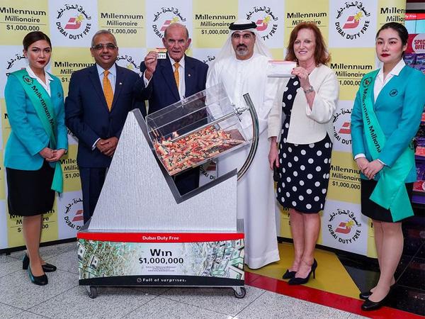 Dubai Duty Free: Two Indian expats win million dollars each at DDF, Dubai, News, Lottery, Winner, Trending, Malayalees, Kannur, Gulf, World