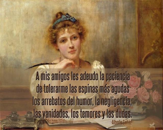 Mujer escribiendo Imágenes con Frases Canciones