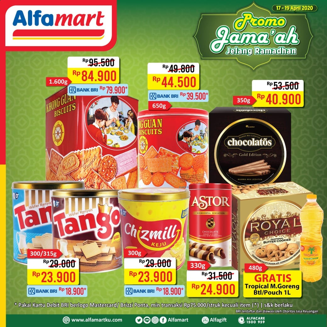 Promo Jsm Alfamart 17 19 April 2020