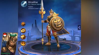 Skin Elite Minsitthar Gilded King Mobile Legends: Bang Bang Terbaru 2019