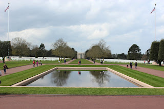 Clothes & Dreams: Why we loved visiting Normandy: Normandy American Cemetery and Memorial at Omaha Beach