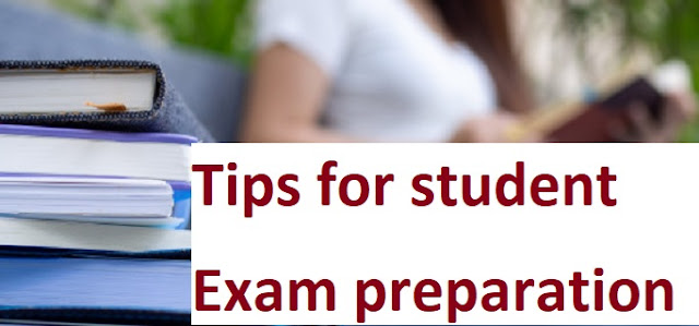 Some special tips for student exam preparation