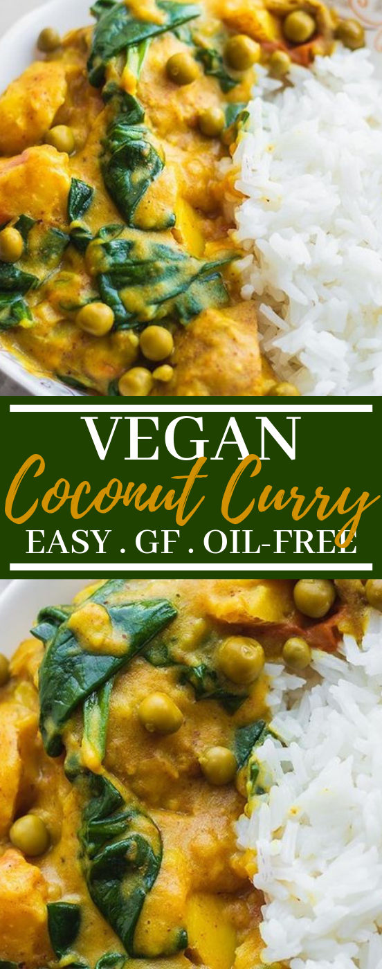 Easy Vegan Potato Curry #vegan #dinner