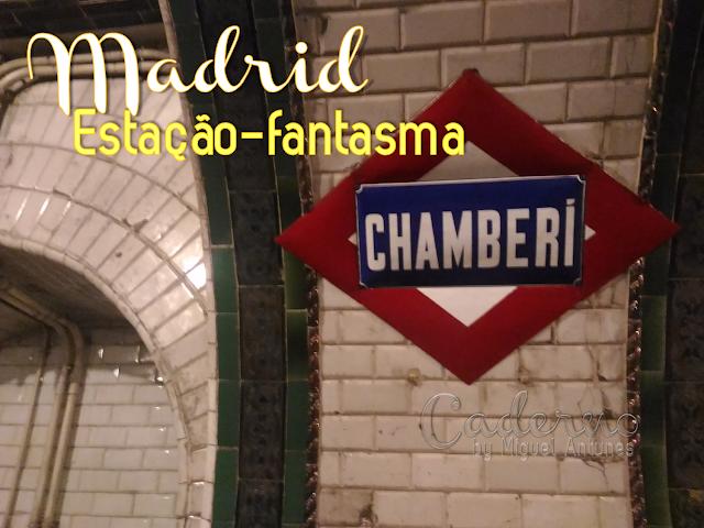 A estação-fantasma de Madrid