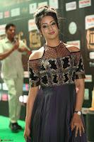 Sanjjanaa Galrani aka Archana Galrani in Maroon Gown beautiful Pics at IIFA Utsavam Awards 2017 52.JPG