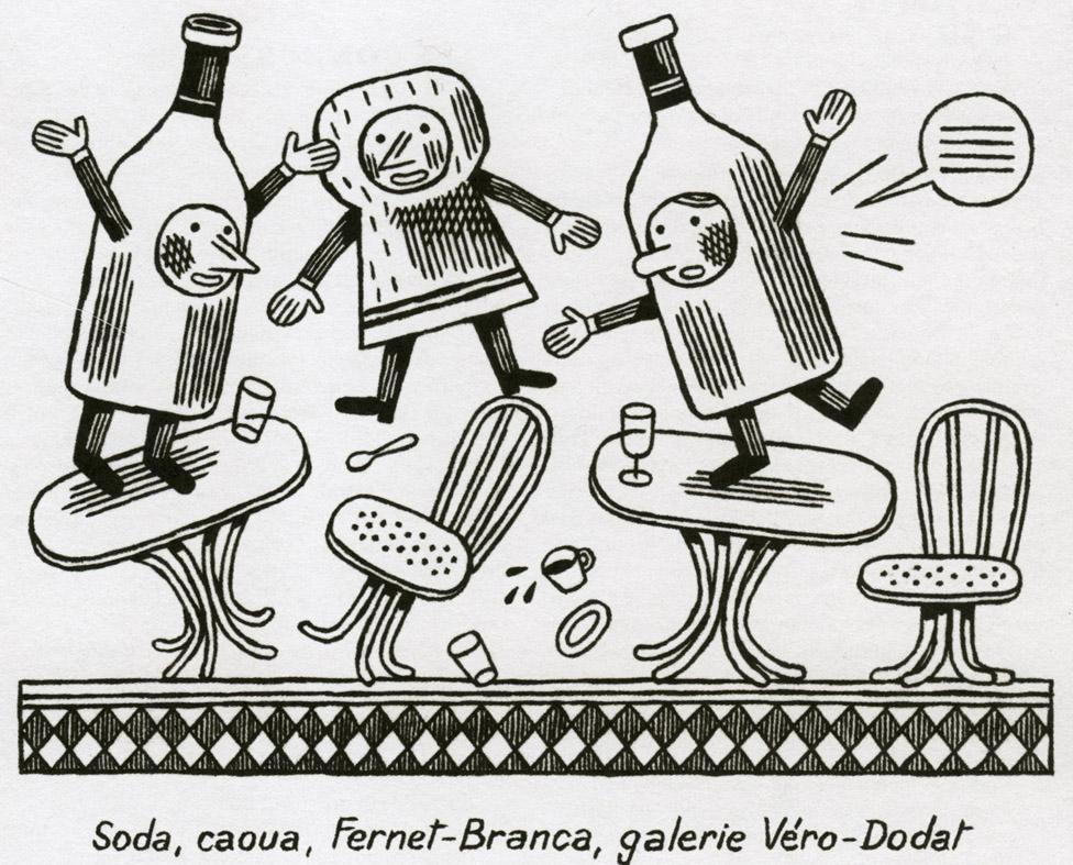 La Belle Illustration: Jochen Gerner, Guide Fooding