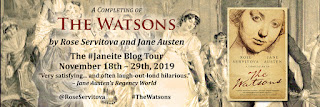 Blog Tour - The Watsons, completed by Rose Servitova