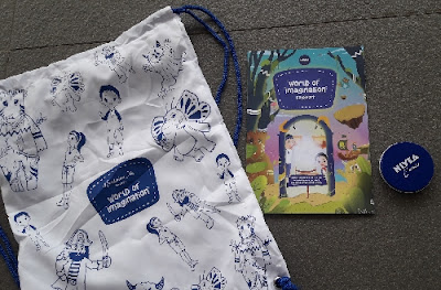 Isi goodiebag world imagination nivea ancol