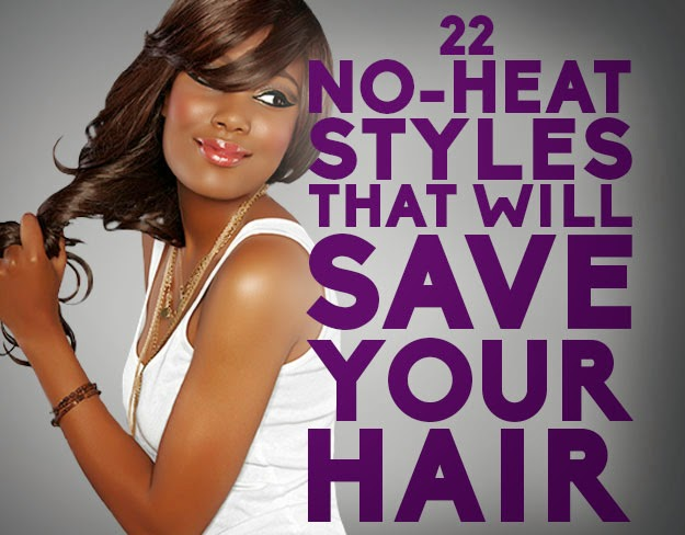 No Heat Hair Styles: 22 No-Heat Styles That Will Save Your Hair