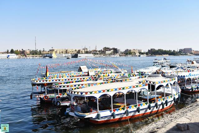 Como moverse por Luxor