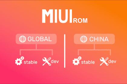 Cara Mengetahui Perbedaan Rom Xiaomi MIUI Global / China / Distributor