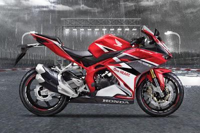 Mirip kan dengan CBR250RR Racing Red ini?