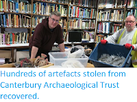 http://sciencythoughts.blogspot.co.uk/2018/03/hundreds-of-artefacts-stolen-from.html