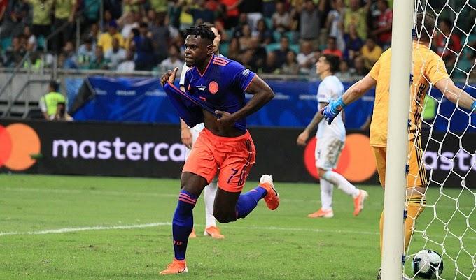Colômbia domina Argentina e vence por 2x0 na Fonte Nova