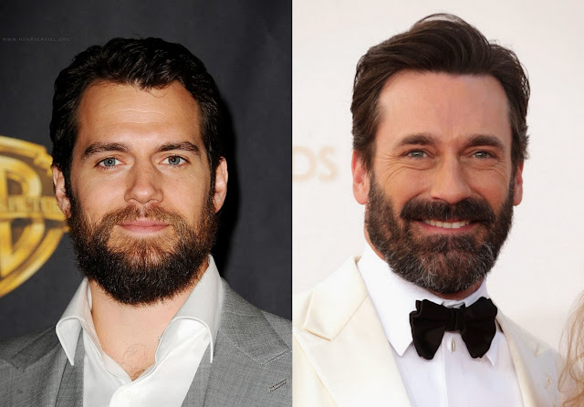 henry cavill jon hamm barbe batman v superman