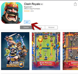 Clash Royale for iPhone, Clash Royale for iPad, Clash Royale iOS