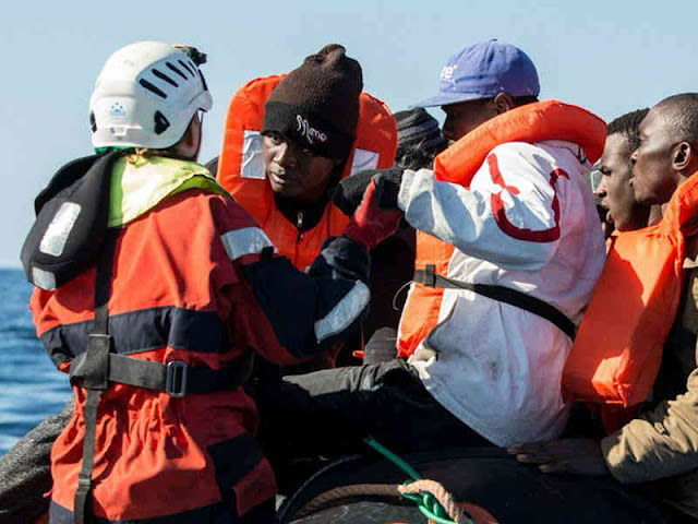 Tingkat Kematian Migran yang Seberangi Laut Mediterania Meningkat