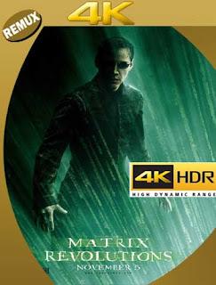 Matrix Revolutions [2003] 4K REMUX 2160p UHD [HDR] Latino [GoogleDrive]