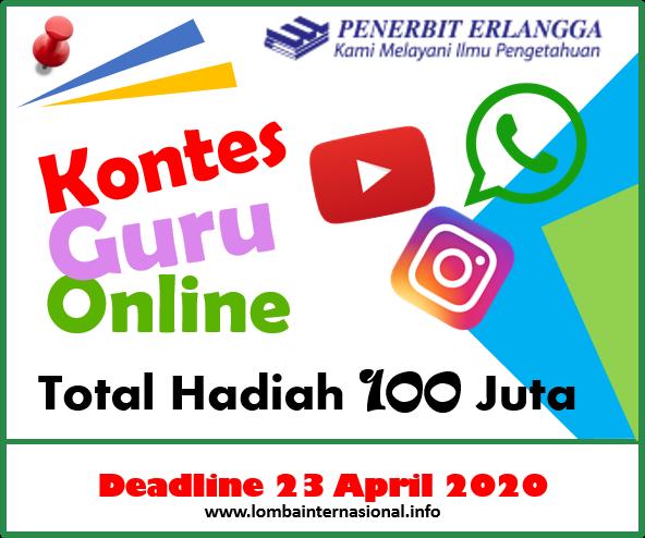 Lombainternasional Info Lomba Inovasi Pembelajaran Kontes Guru Online Penerbit Erlangga Berhadiah Total 100 Juta
