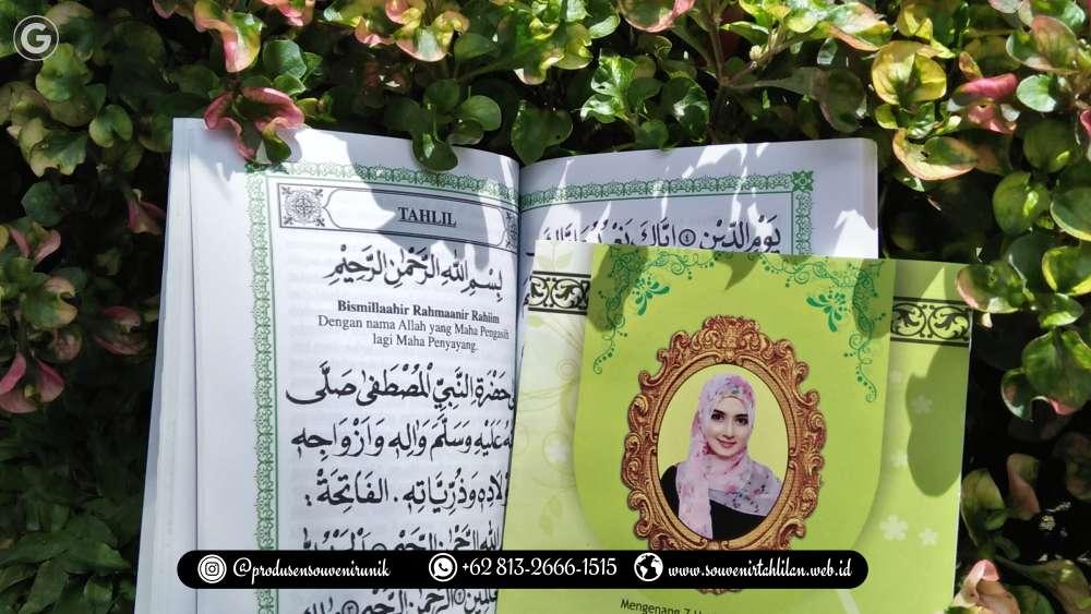 Produsen Buku Yasin Custom Ada Fotonya, Harga MURAH!!!