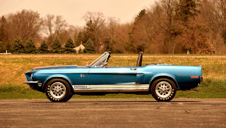 1968 Ford Mustang Shelby GT500KR Convertible Side Left