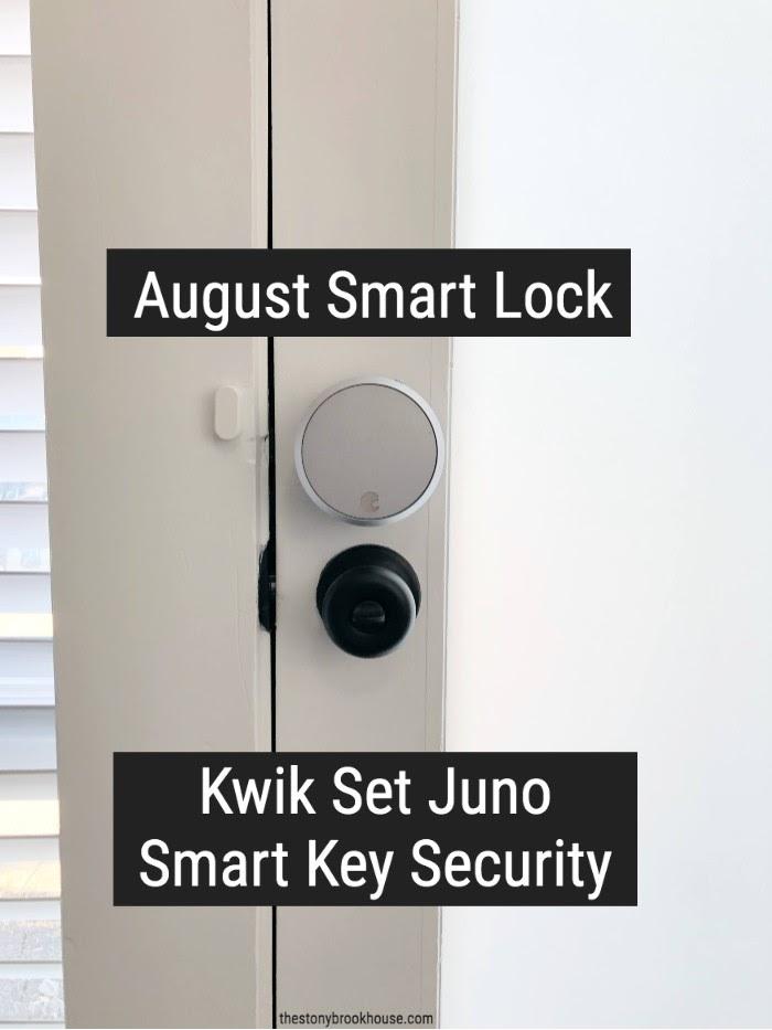 August Smart Lock Installed