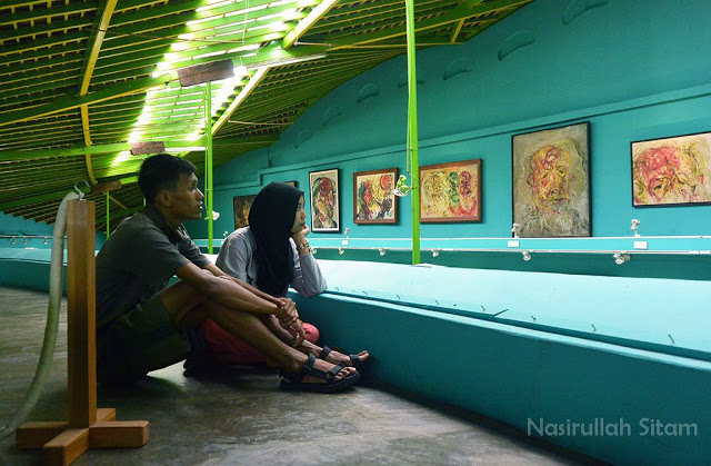 Di area Museum Affandi Yogyakarta