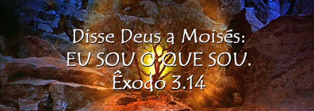 Resultado de imagem para ~exodo 3:14