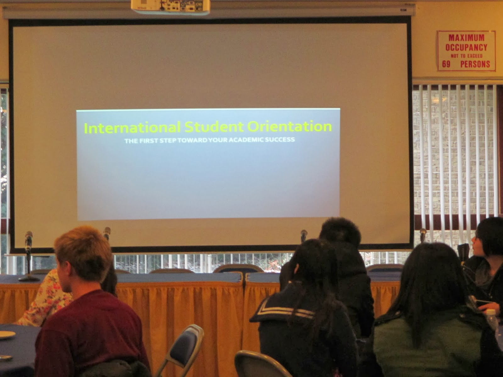 Hofstra Student Life: International Student Orientation
