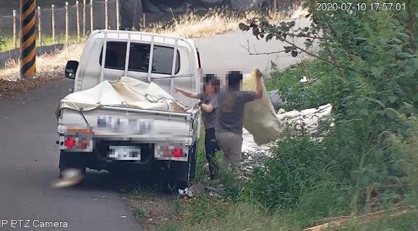 彰化區域排水抓違法棄置垃圾 攝影機取證開罰最高500萬