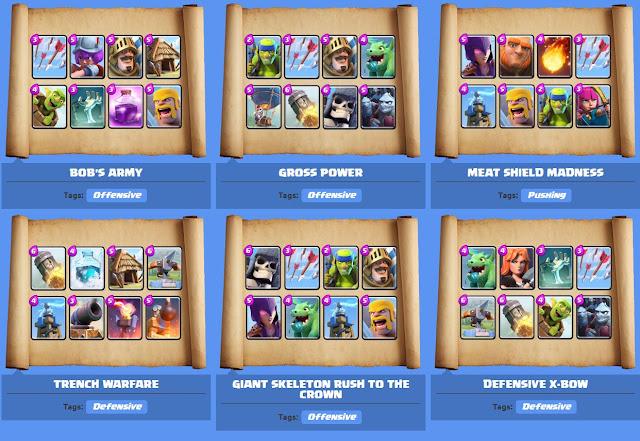 Clash Royale best deck Arena 4