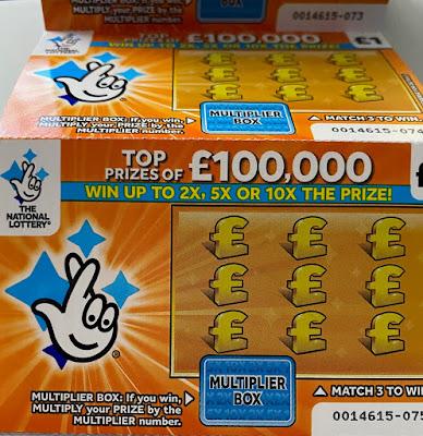 £1 £100,000 Multiplier