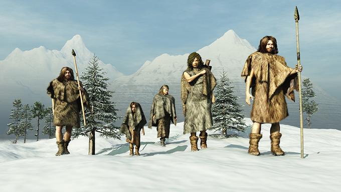 İlk İnsanlar Buz Devri'nden Nasıl Kurtuldu? Sığınaklar, Kıyafetler ve Sanat: