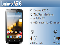Lenovo A516 Android PC Suite Download