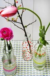 Kerajinan Tangan Dari Botol Bekas - Vas Bunga 2