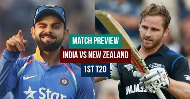 Match Preview: India vs New Zealand 1st T20 Feroz Shah Kotla, Delhi 2017