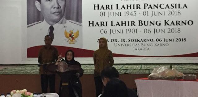 Rachmawati: Bung Karno Mengatakan Berjuang Itu Harus Radikal, Progresif Dan Revolusioner