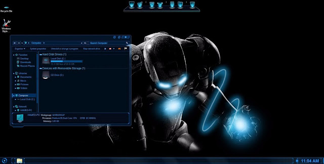 Cara Mengubah Komputer & Laptop Windows jadi Jarvis / Iron Man